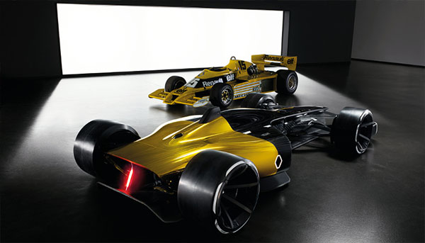 Renault Formula 1 - Forty Years of Racing Evolution