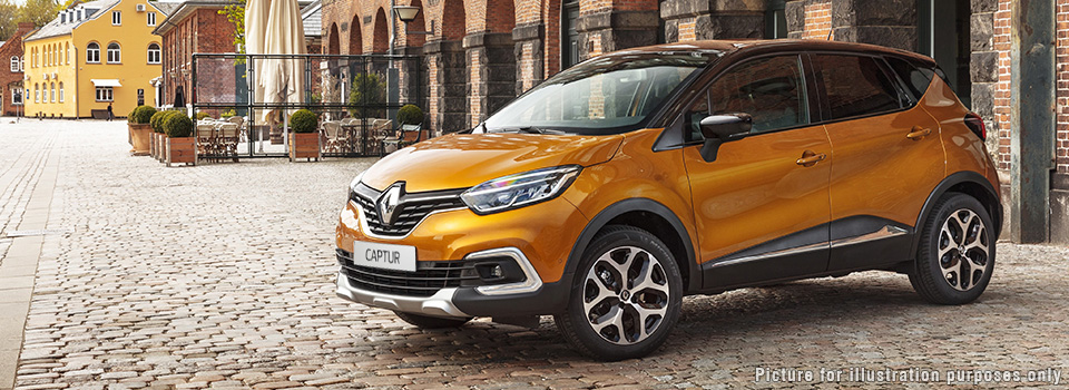 The Renault Captur