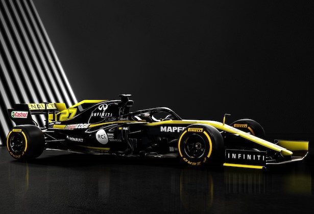 The 2019 Renault F1 Car