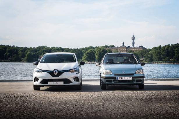 New Renault Clio and Renault Clio I