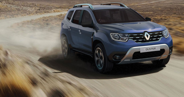 Blue Renault Duster