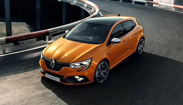 The New Renault Megane RS