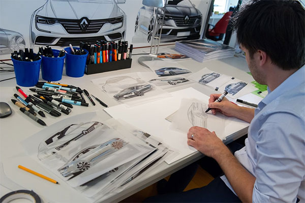 Renault Design Academy - Vehicle Designers at Work