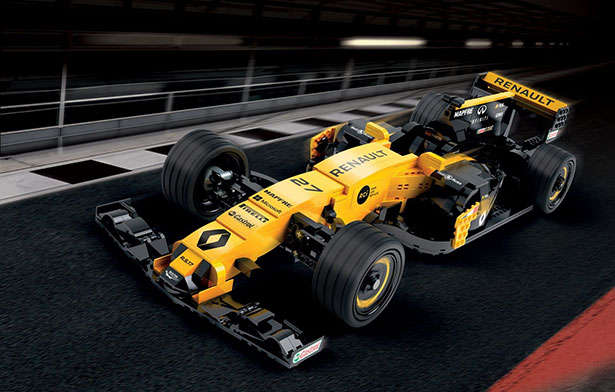 Renault/LEGO team up for a life-sized R.S.17 F1 racer