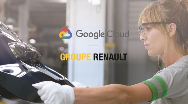 Renault Partners With Google Cloud