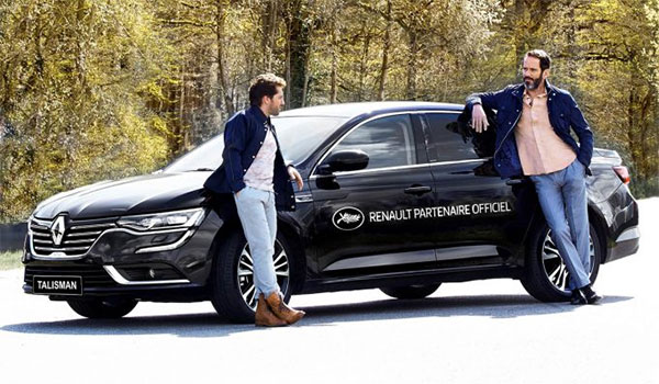 Renault Talisman - Official Vehicle at the Cannes Film Festival