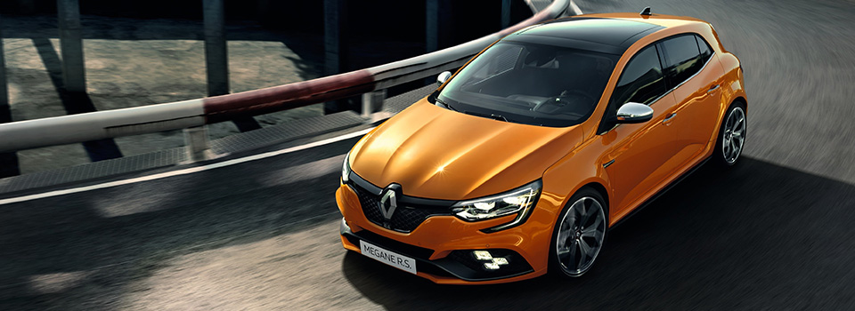 The Renault Megane RS